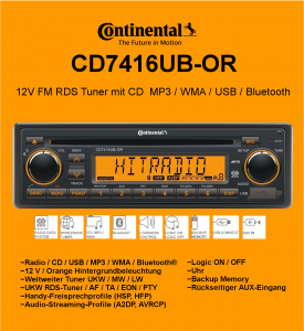 CD7416UB-OR 12V