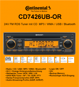 CD7426UB–OR 24V