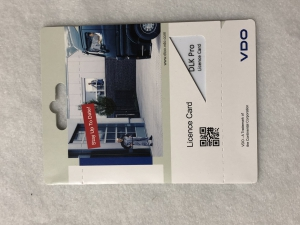 LICENCe card for VDO DLK Pro I Generation